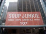 soup junkie sign
